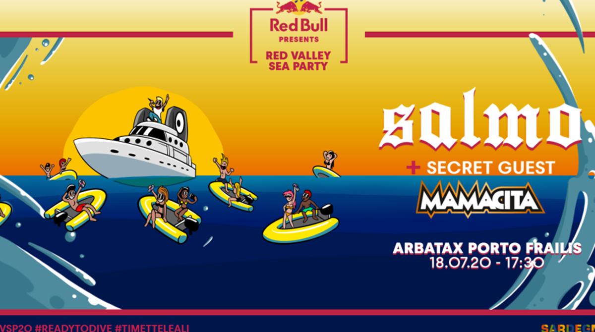 RED VALLEY SEA PARTY!!! (prezzo totale per 4 persone)