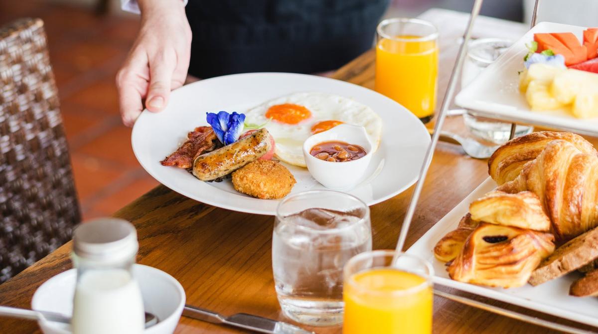 La colazione te la regaliamo noi !