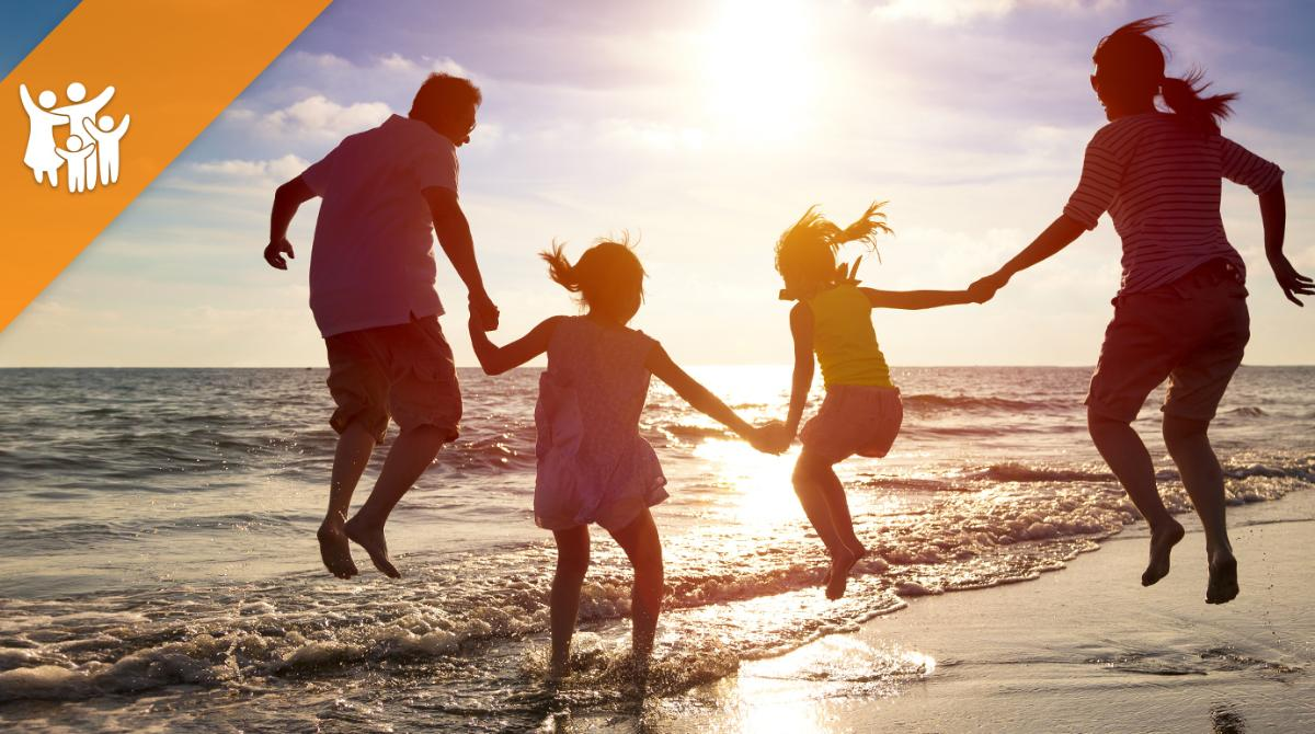 FAMILIENANGEBOT AUGUST  2 Erwachsene und 2 Kinder